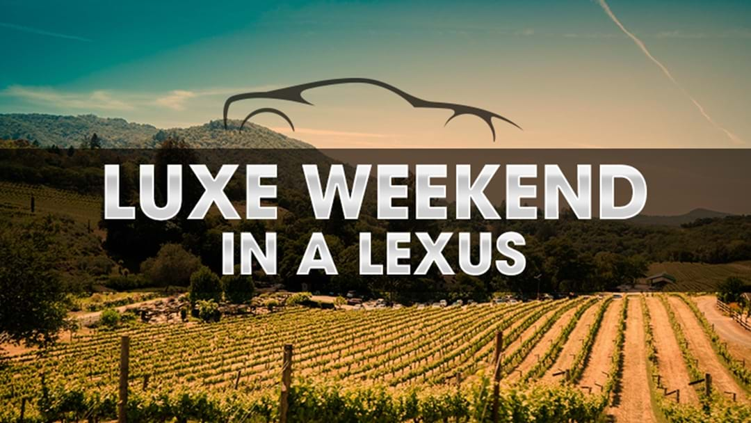 2GO's Luxe Weekend In a Lexus