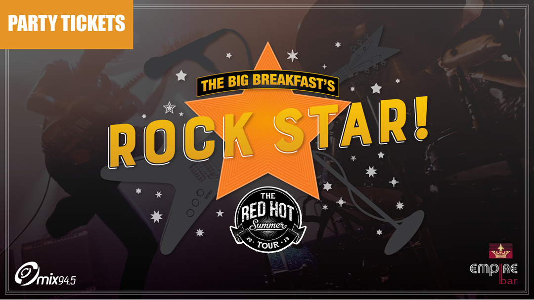 Want to attend The Big Breakfast's Rock Star Party?!