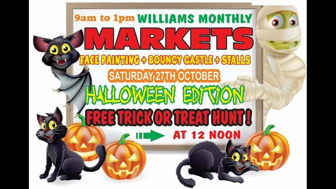 Williams Monthly Markets – Halloween Edition