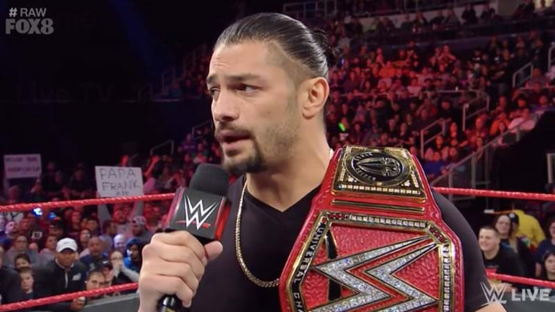WWE statement on Roman Reigns battling leukemia