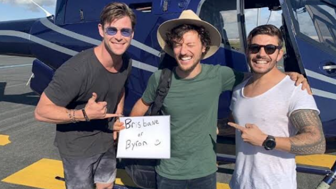 Will The Hemsworth Hitch Hiker Mentor Seany's Band?