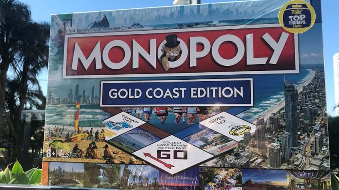 PASS GO, GOLD COAST! GC Monopoly Board Revealed