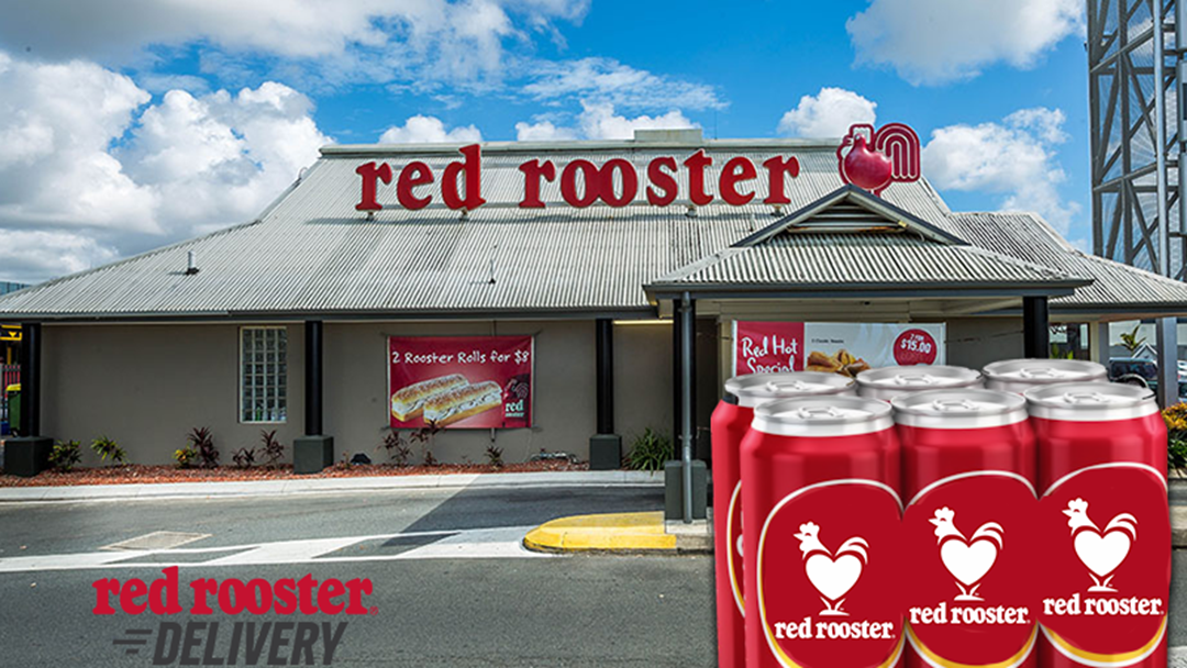 Red Rooster Is Trialling Grog Delivery So Get Ready For A Rippa Roll And Froffie Combo