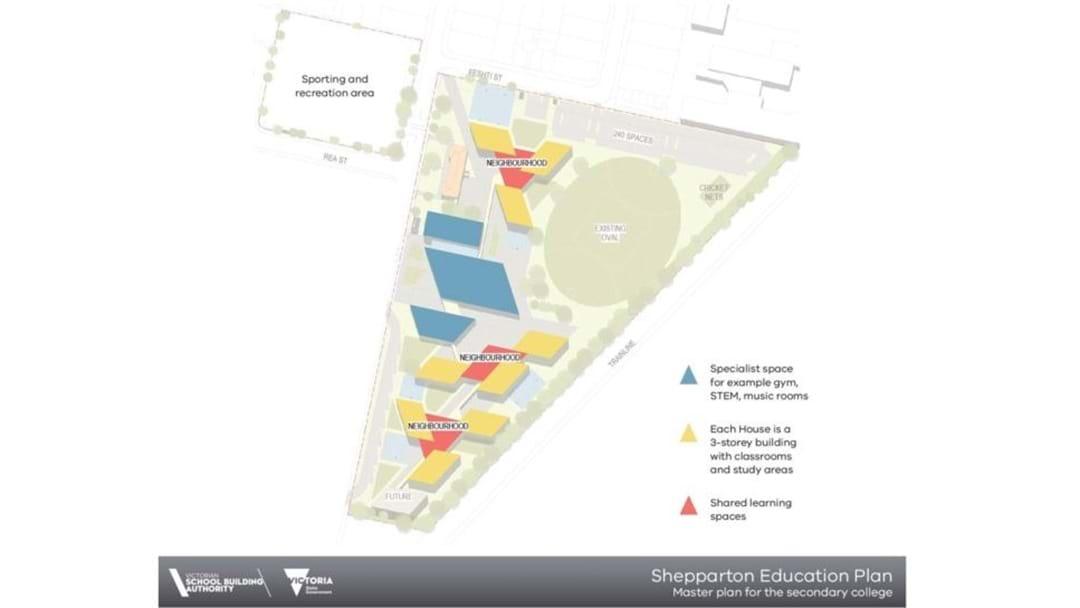 Shepparton Super School Design Released