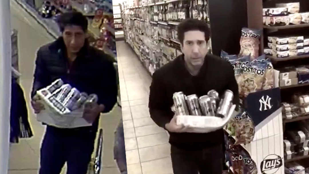 That David Schwimmer Look-A-Like Has Been Tracked Down And Arrested