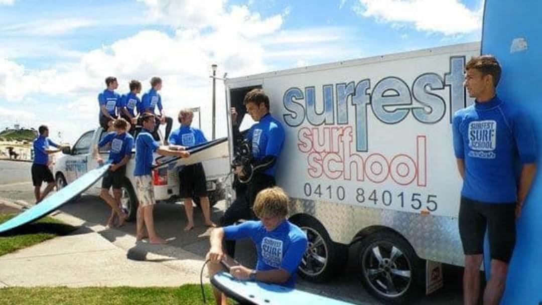 Surfest Surf School Trailer Stolen