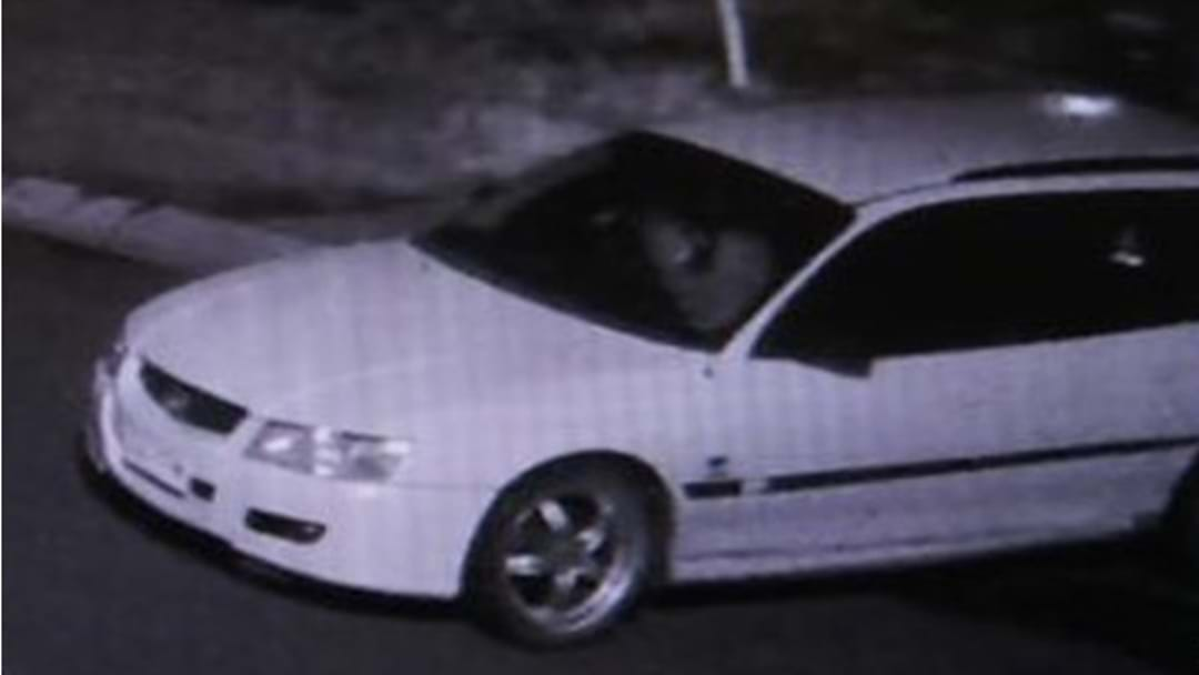 Can You Identify This white Holden Commodore?