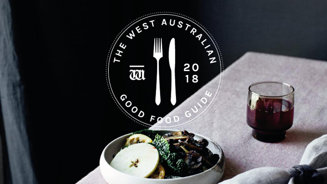 WA Good Food Guide Awards 2018