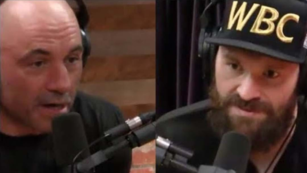 Do Yourself A Favour And Watch Heavyweight Boxer Tyson Fury's Appearance On Joe Rogan's Podcast