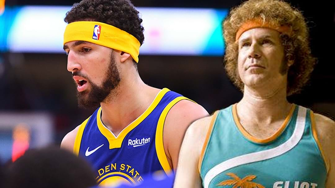 Klay Thompson Says His Headband Was Inspired By Jackie Moon From 'Semi-Pro'