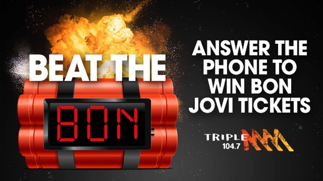 WIN A DOUBLE TO SEE BON JOVI