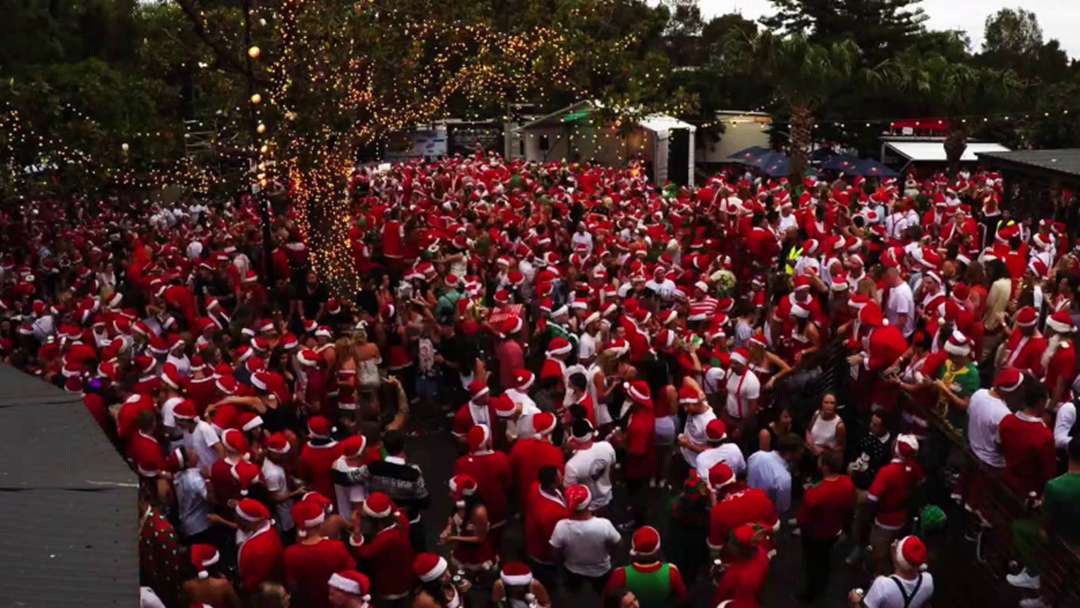A Heap Of Locals Dressed As Santa Will Embark On A Pub Crawl This December