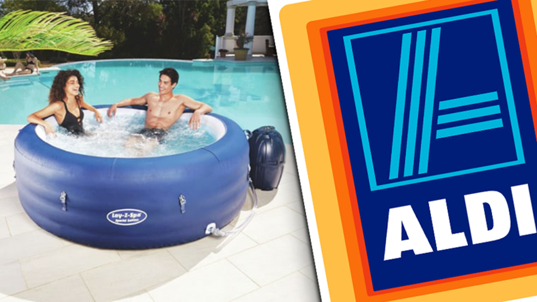 Grab Yourself A Box Of Green Apple UDLs 'Cause Aldi's Slinging A Six-Person Spa For $499