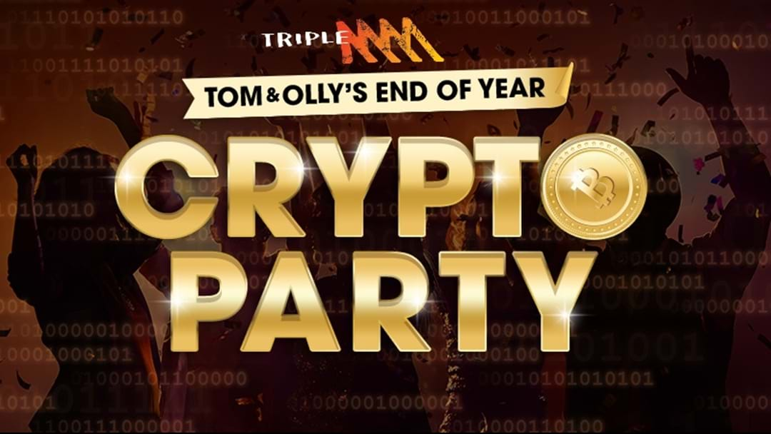 Win your invite to Tom & Olly's End of Year Crypto Party!