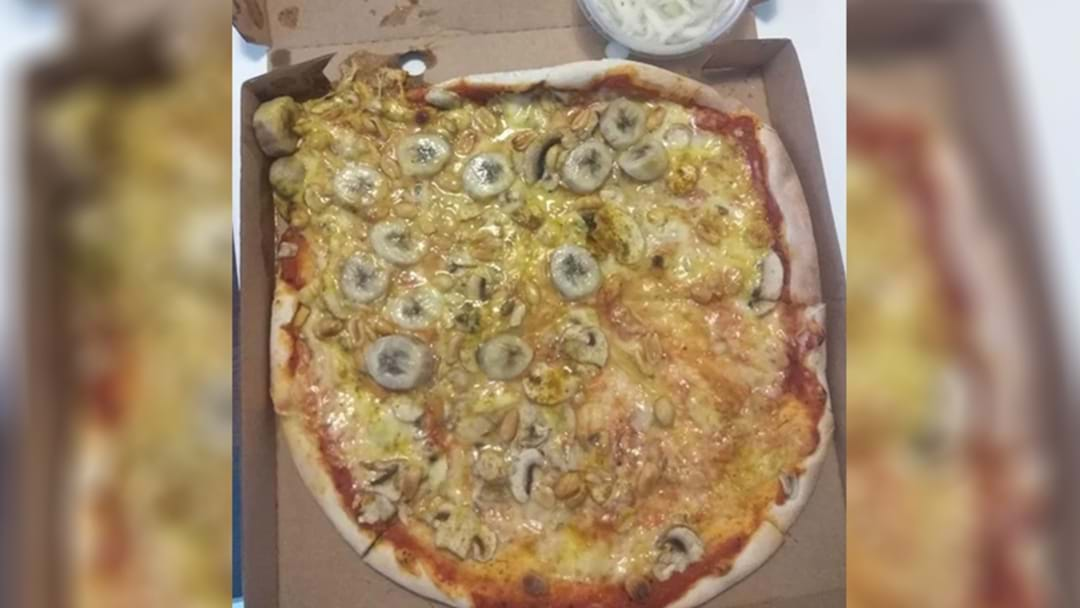 Someone Has Committed The Ultimate Food Crime: Bananas On Pizza