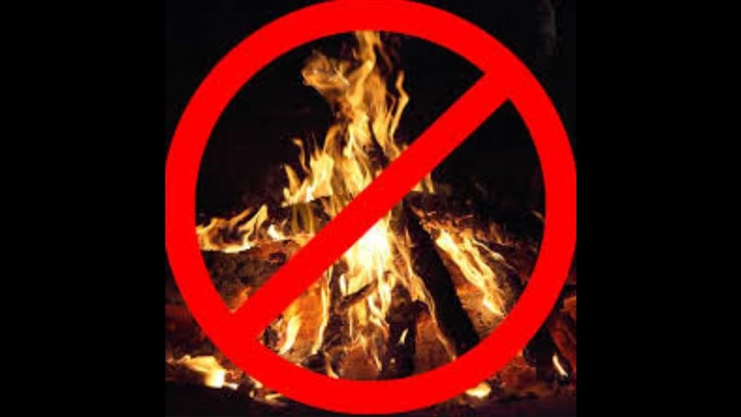 Friday Fire Ban