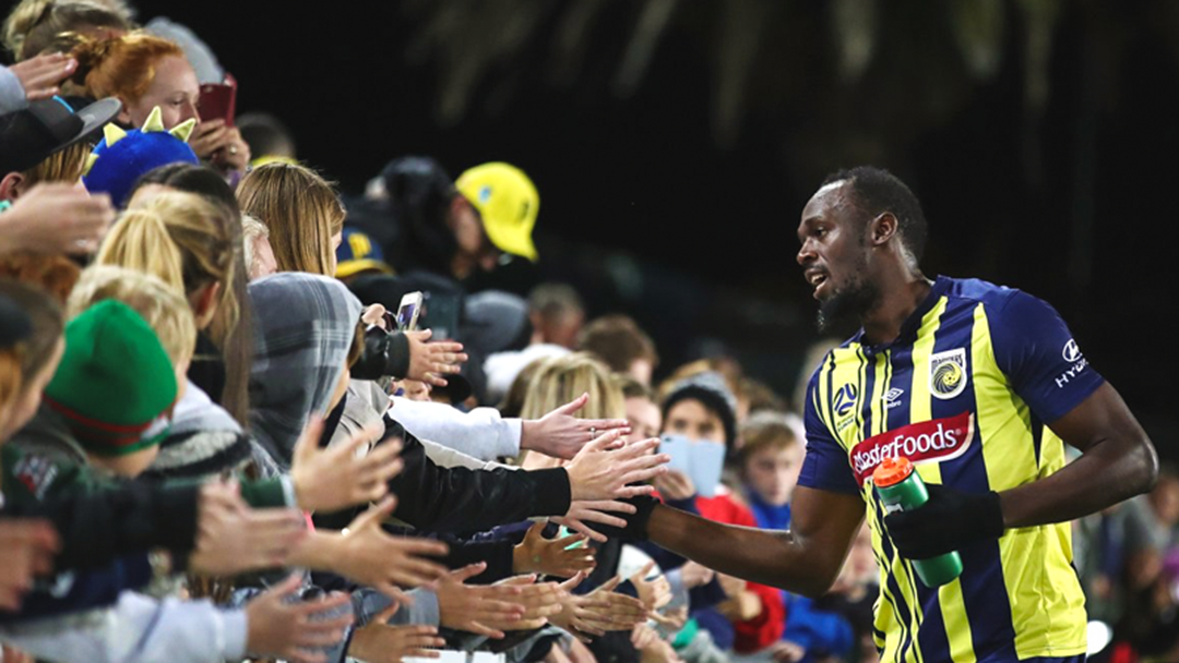Usain Bolt Rejects Central Coast Mariners Contract Offer