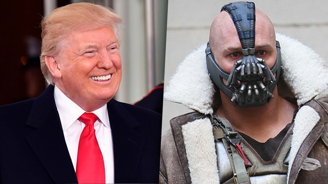 Donald Trump Definitely Quoted Bane During His Inauguration Speech