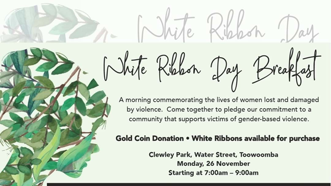 Annual White Ribbon Breakfast