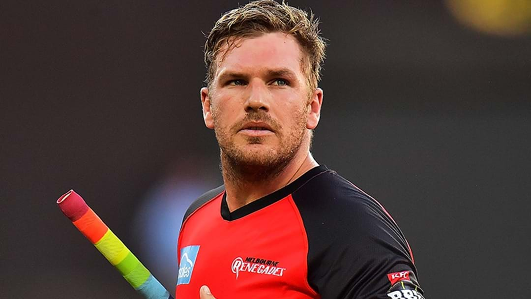 Aaron Finch Tipped To Reclaim Australian Captaincy