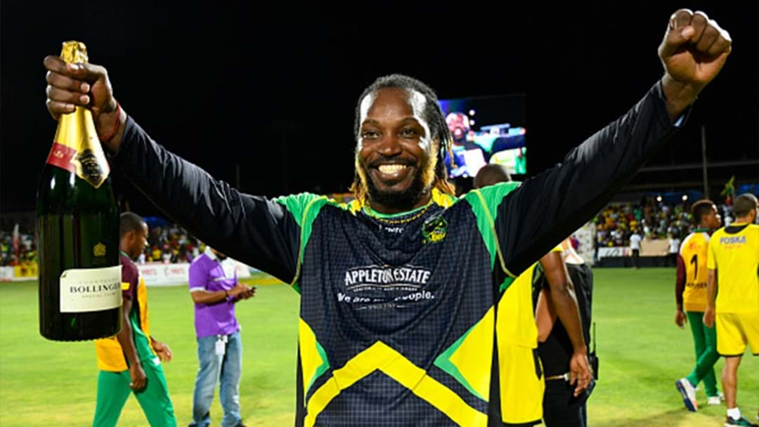 Chris Gayle Has Claimed That He Will Play Until He's 50