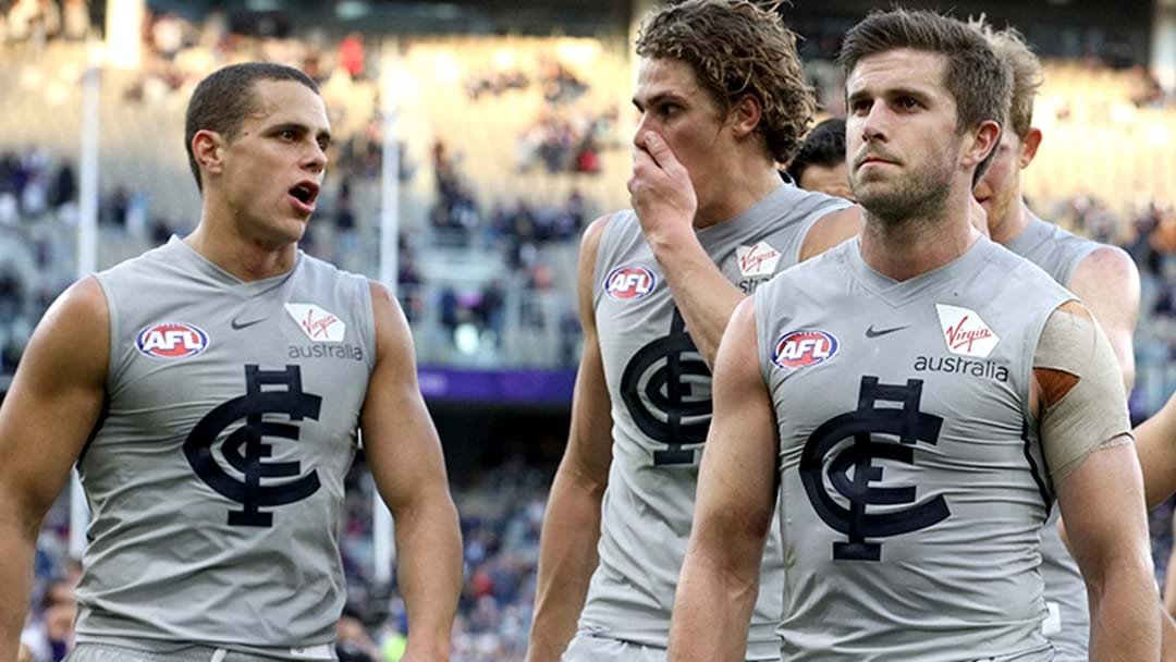 Carlton Has Ditched The Grey Clash Strip For 2019