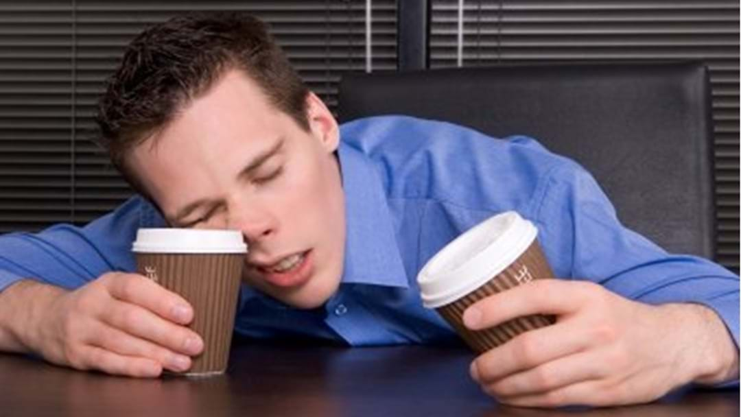 Sleep Deprivation - It's Like Being Drunk at Work