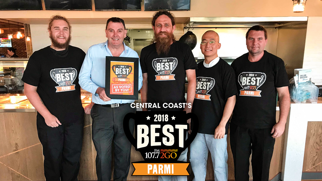 The Votes Are In... The Best Parmi On The Central Coast Is In Wamberal!