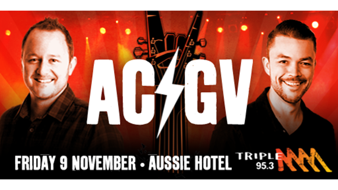 Seany's Own Band AC/GV Set To Rock The Aussie Friday Night