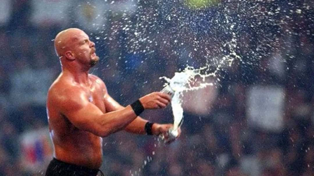 Stone Cold Steve Austin Has Given Up Beer, So Now We Don't Know What To Think Anymore