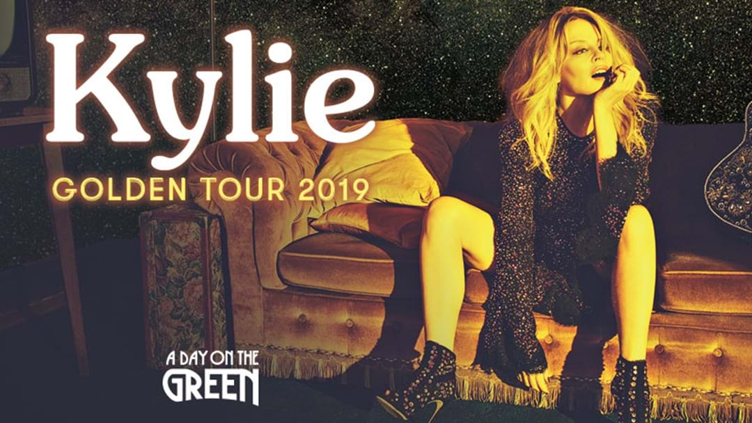 KYLIE TO BRING HER ACCLAIMED GOLDEN TOUR TO AUSTRALIA IN MARCH 2019!