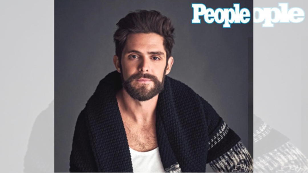 Thomas Rhett Named People Magazine's Sexiest Country Star