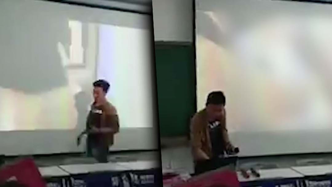 University Lecturer Accidentally Plays Porn Video To Students