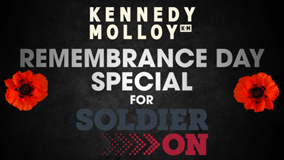 Kennedy Molloy's Remembrance Day Special For Soldier On