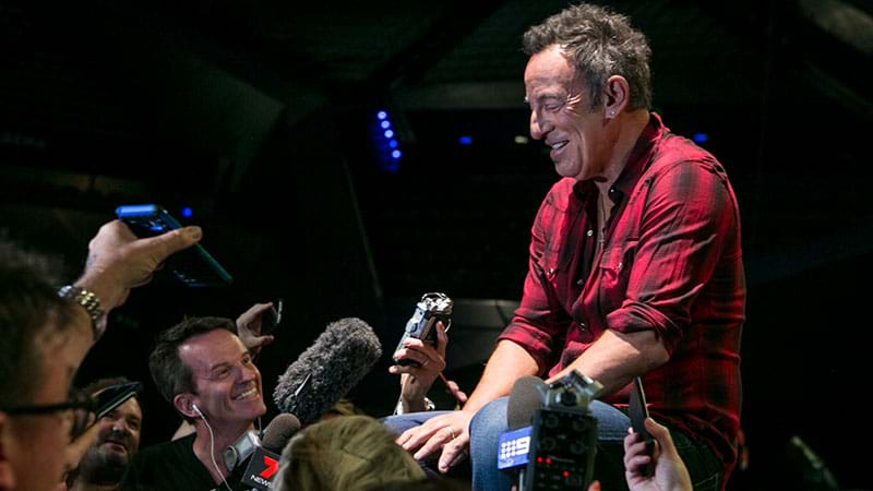Bruce Springsteen Tour  Perth Setlist