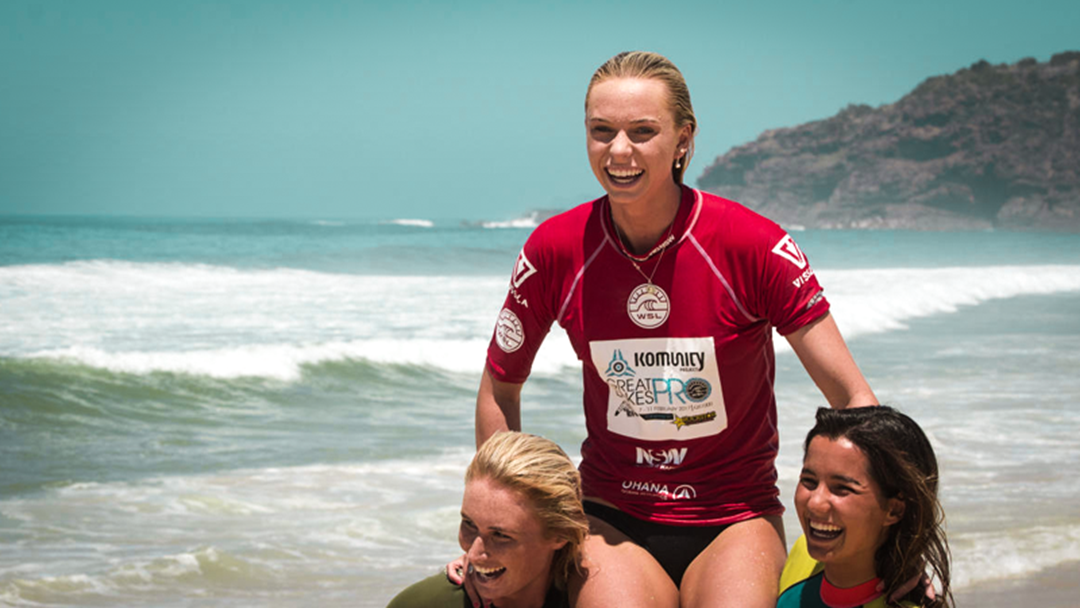 Avoca's Macy Callaghan Has Qualified For The 2019 Surfing World Championship Tour!
