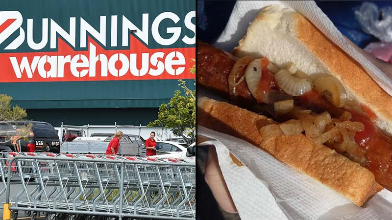 Bunnings sausage sizzle under fire for slippery onions