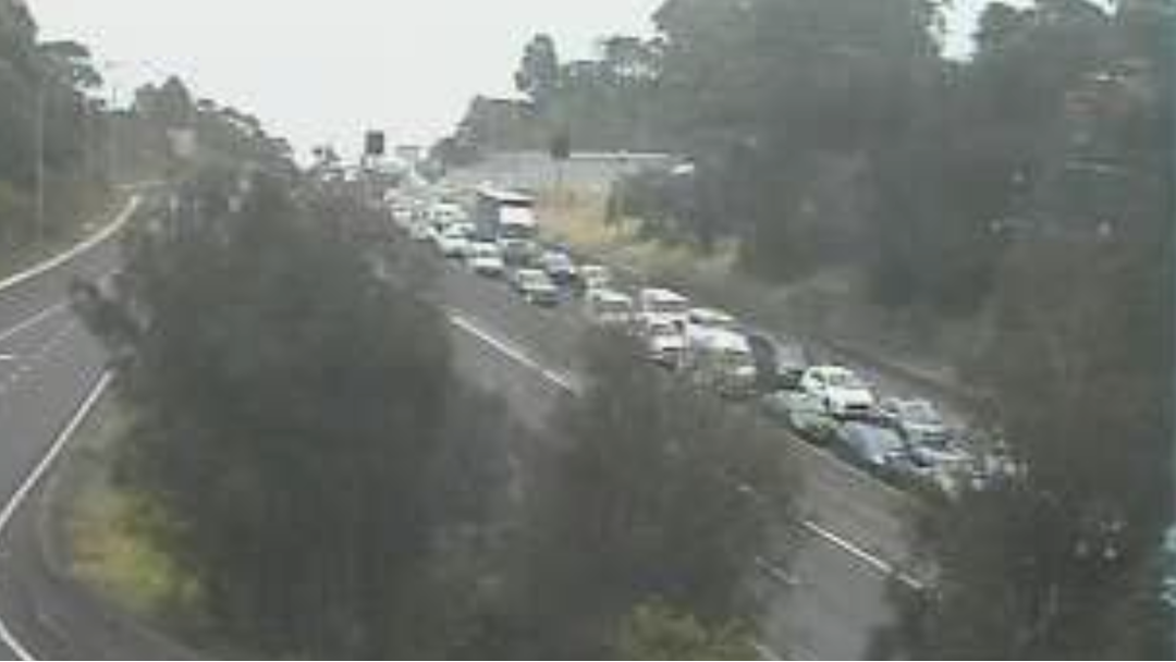 Massive Delays On M5 As All Citybound Lanes Closed Approaching Main Tunnel