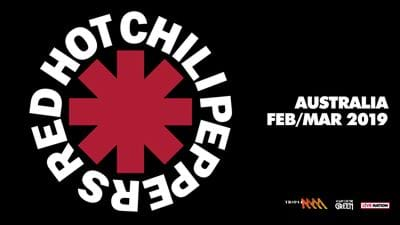 Red Hot Chili Peppers 2019 Australian Tour