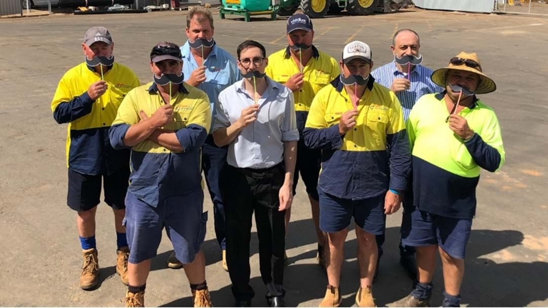 Griffith City Council Staff Ditch Razors For Movember