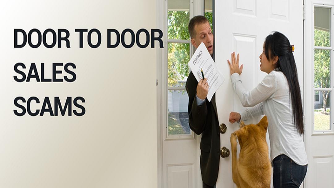 BEWARE ESPERANCE of the latest DOOR-TO-DOOR SCAM