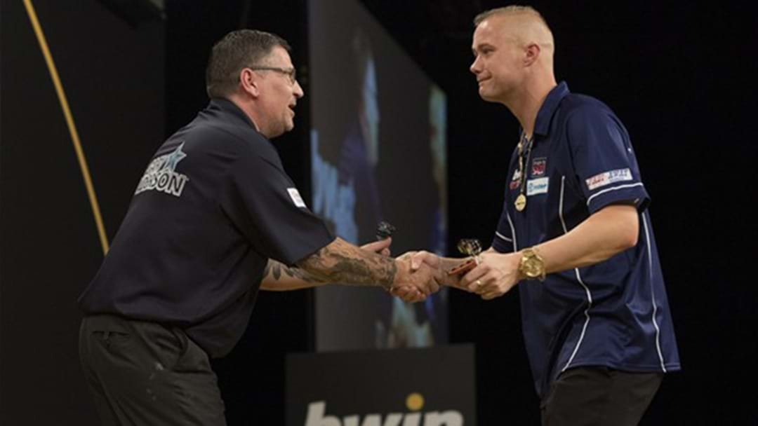 Darts Rivals Tee-Off Accusing Each Other Of Farting During Match