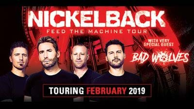WIN VIP Tickets To See Nickelback LIVE In Brisbane