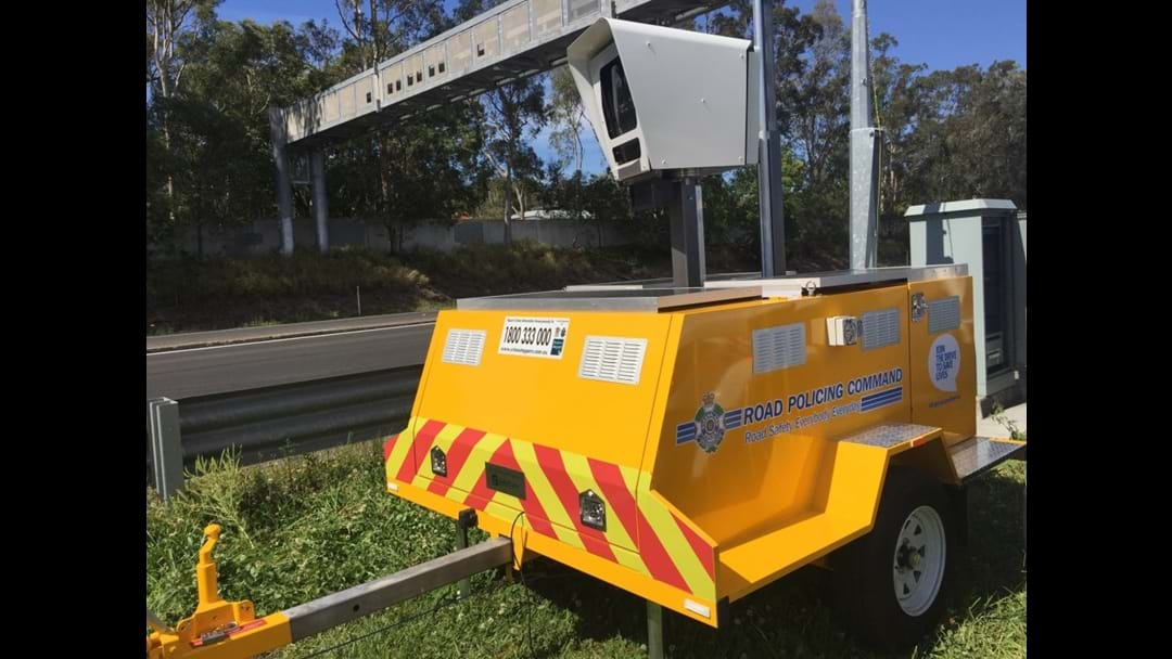 Trailer Speed Cameras To Target School Zones