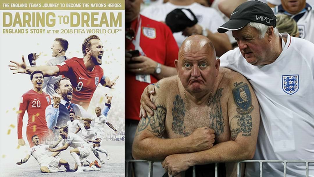 There's A Documentary About England's 2018 World Cup Even Though Football Did Not Come Home