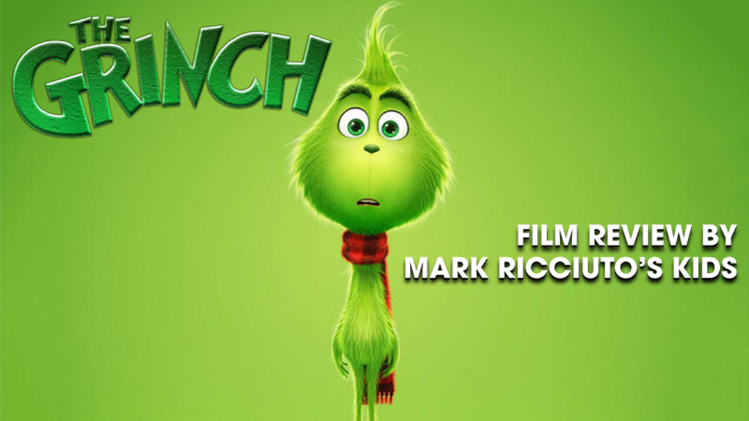 We Got Roo's Kids To Review The New 'Grinch' Film And It Was Bloody Hilarious