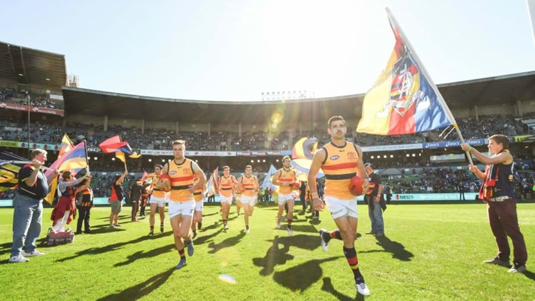 Triple M Joins Forces With The Adelaide Crows