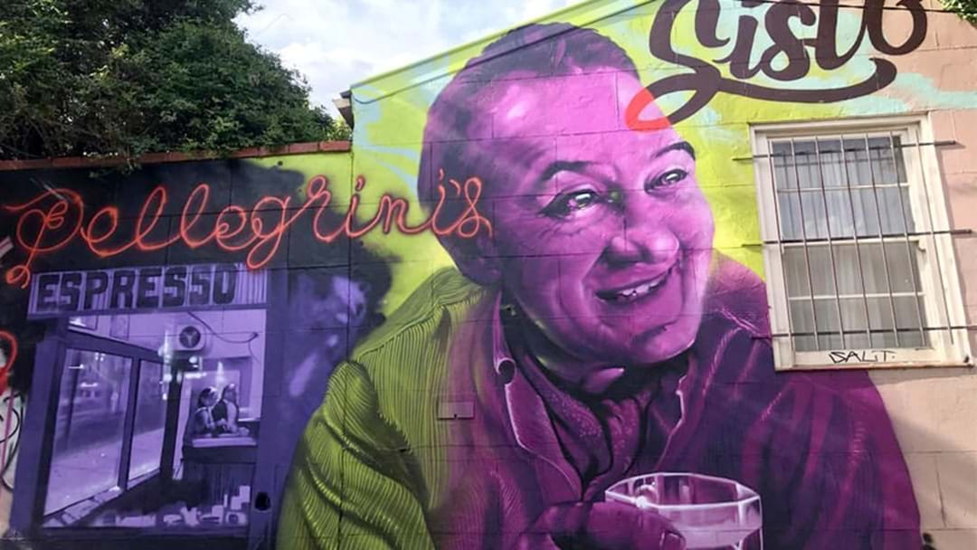 Sisto Malaspina Has Been Remembered With An Incredible Mural In Carlton