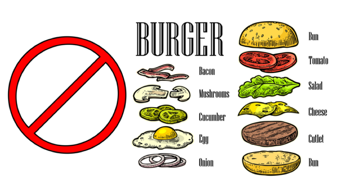 What Absolutely Cannot Go On A Burger?