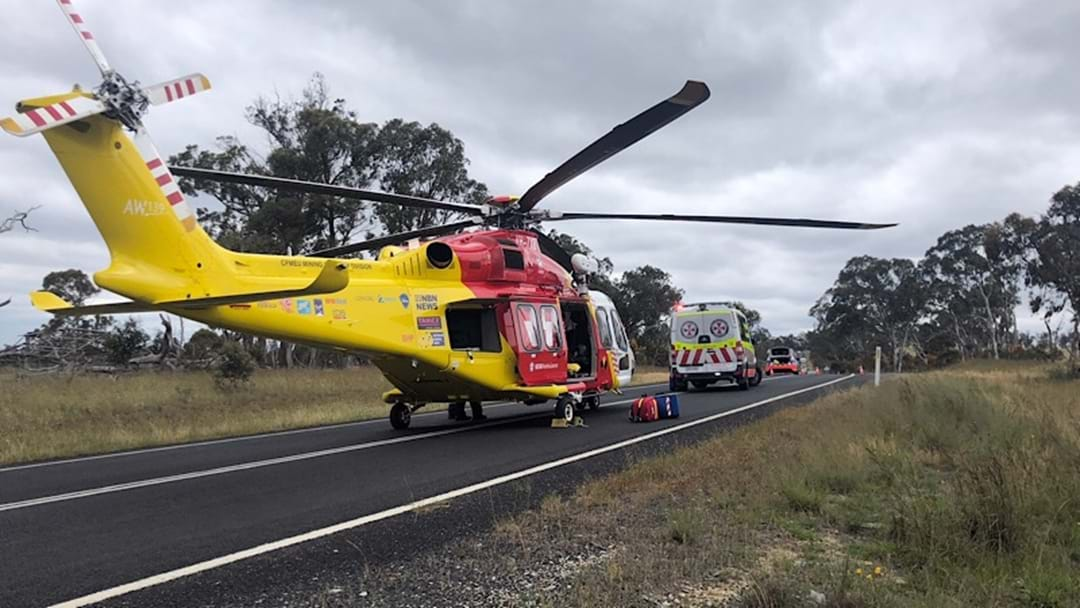 Woman Flown to Coffs Hospital After Car Rollover on Waterfall Way